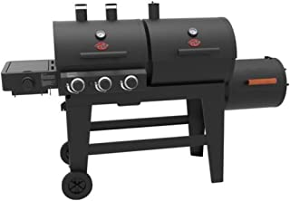 Char-Griller Triple Play 3Burner Gas,Charcoal Grill and Smoker Plus Free Custom Fit Cover!