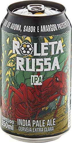 Cerveja Roleta Russa Ipa 350ml Roleta Russa Pale Ale 350ml