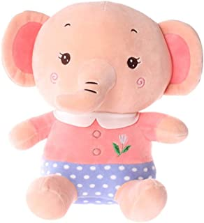 LXDWJ Elephant Plush Soft Toy, Puppet Toys, Gifts for Kids 35 cm (Color : B)