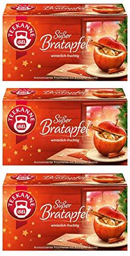 Teekanne Süßer Bratapfel 3er Pack (3 x 50g)