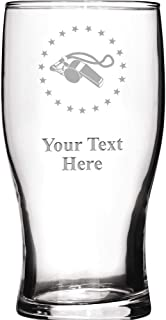 Coaches Personalized Beer Glasses, 19 1/2 oz Personalized Coaches Whistle Beer Glass Gift, Engraving Included Prime