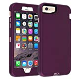 Co-Goldguard iPhone 6 Plus Case,iPhone 6S Plus Case, Heavy Duty Shockproof High Impact Resistant Dual Layer Hybrid Protective Cover Shell for Apple iPhone 6+/6S+(5.5 inch)-Purple