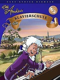 Little Amadeus Klavierschule 2 - arrangiert für Klavier [Noten / Sheetmusic] Komponist: Heumann Hans Guenter
