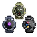 QINQI Smart Watch Bluetooth, fitness Activity Tracker con cardiofrequenzimetro, ripresa a distanza multifunzione, orologi intelligenti sono adatti per il fitness all'aperto su Android iOS