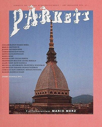 Parkett Vol 15: Mario Merz (Parkett Art Magazine, No 15, 1988) by Mario Merz (1989-01-01)