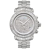 Orologio Joe Rodeo Diamond Uomo - Rio Silver 8 ctw