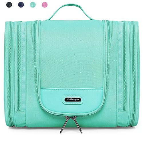 Extra Large Hanging Toiletry Bag for Women and Men, Travel Toiletries Organizer for Kids and Girls, Heavy Duty Cosmetic Makeup Bag with Hook, Waterproof Shaving Kit Bag Bathroom Shower Bag