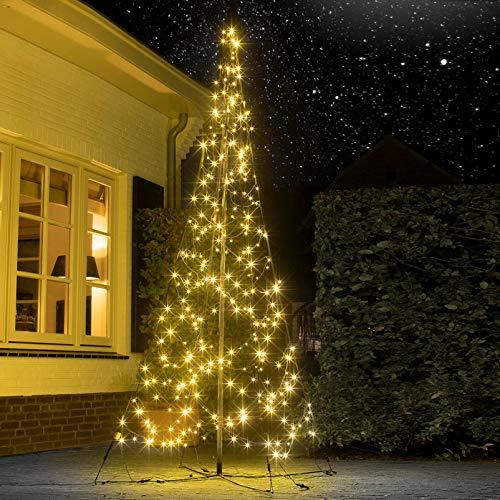 Pflanzen Kölle LED Weihnachtsbaum Fairybell, 320 Lichter, warmweiß, inkl. Fuß, Höhe ca. 3m