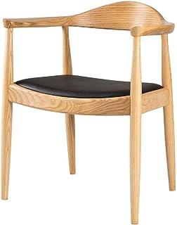 YUMUO Sillas de Comedor Asiento de cojín Suave con Patas de Madera Maciza Sillas de Cocina para sillas de Comedor y Sala de Estar (Color: B)