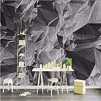 Djskhf 壁紙3D 3Dステレオハイグレードロックマウンテン背景壁画スタジオオフィスカスタム壁紙廊下リビングルーム壁画 280X200Cm