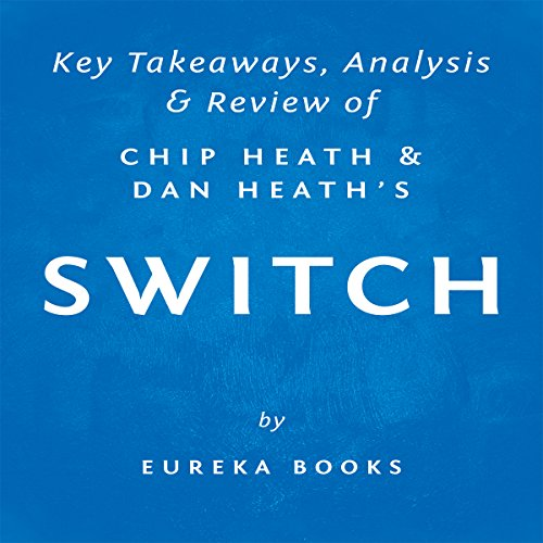 Switch: How to Change Things When Change Is Hard, by Chip Heath and Dan Heath | Key Takeaways, Analysis & Review audiobook cover art
