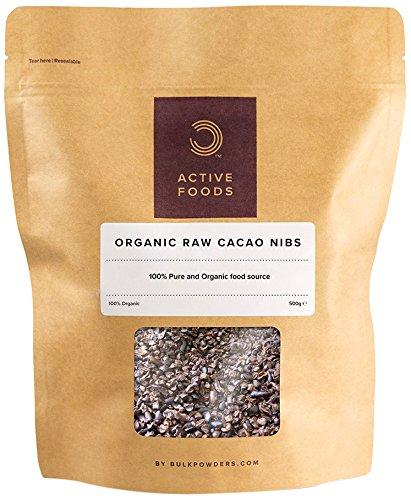 BULK POWDERS Rohe Bio-Kakaonibs, 250 g