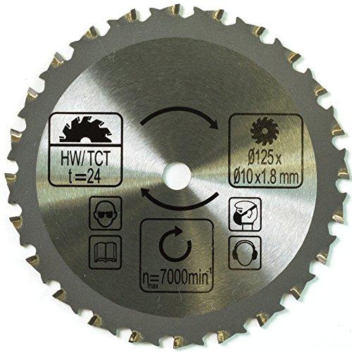 Batavia 7062669 Multi-Material Sägeblatt 24T ∅125mm