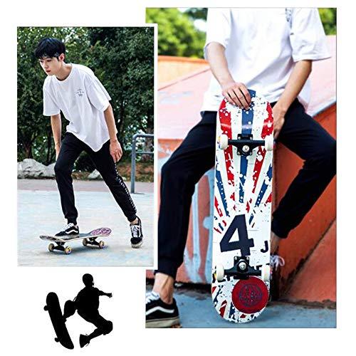 kyman Tablero Completo del patineta, con los rodamientos de Bolas ABEC-7 y...