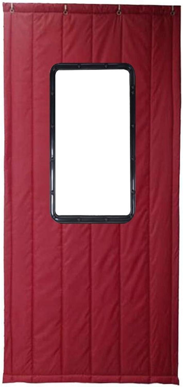 Thermo-Türvorhang Verdicken Baumwolle Warm Halten KlteBestendig Feuchtigkeitsfest Schalldicht, 4 Farben Mehrere Gren Anpassbar (Farbe   B, gre   80x180cm)