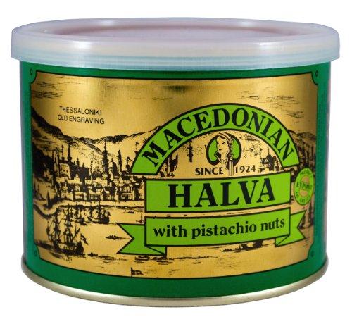 Griego Macedonio Halva con Nueces de Pistacho 500 gr