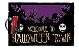 The Nightmare Before Christmas Felpudo Nightmare Before Christmas Halloween Town