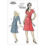 Vogue 8379 - Schema di Cucitura per Rendere Le Donne del Vestito (2 Modelli Differenti) [English]