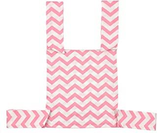 YeahiBaby Children's Doll Sling Cotton Baby Toy Shoulder Sling Baby Doll Carrier (Pink Wave)