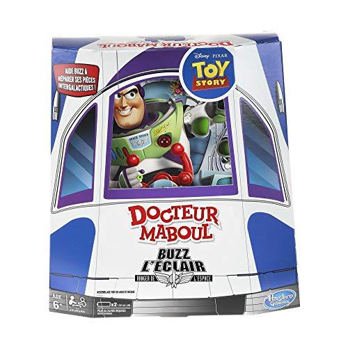Docteur Maboul Buzz lEclair - Disney Toy Story - Jeu de societe - Jeu educatif - Version française