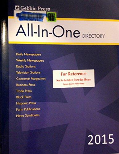 Gebbie Press All-in-One Directory 2015 (Gebbbie Press All-In-One Directory)