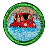 Car Pooling Novelty Merit Badge - 1.5' Embroidered Patch with Adhesive Backing