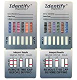 Best Drug Test Kits - 5 Pack Identify Diagnostics 12 Panel Drug Test Review