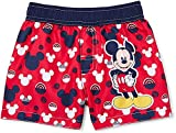 Baby Boys Mickey Mouse Swim Trunks 0/3 Months Red