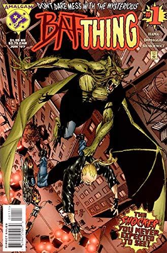 Amalgam Comics Bat-thing #1 June 1997 Don't Dare Mess with...