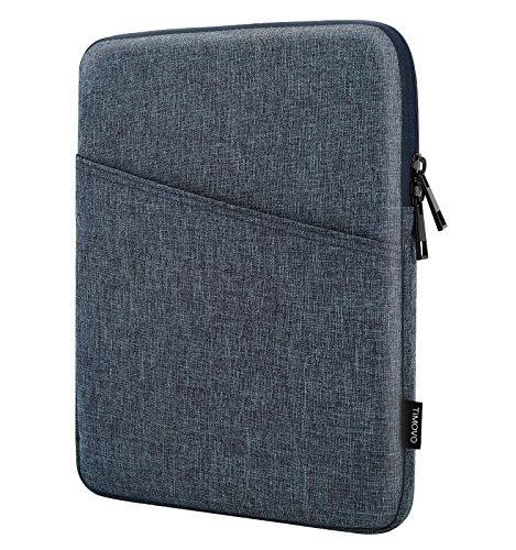 TiMOVO 9-11 Zoll Tablet Sleeve Hülle Kompatibel mit iPad 10.2 2019-2021, iPad Air 4 10.9 2020, iPad Pro 11 2018-2021, Galaxy Tab A7 10.4, S6 Lite 2020, Smart Keyboard Schutzhülle, Raum Grau