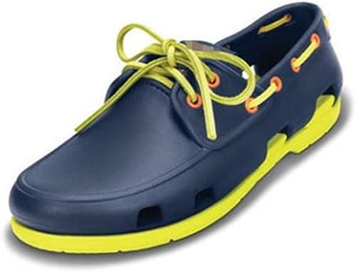 NVSLX Damensandalen Clogs Schuhe Lace Up Up Up Stiefel Sandalen Breathable Unisex Männer und Frauen Schuhe Strand, A, 8  allgemeine hohe Qualität