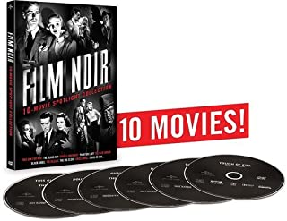 Film Noir 10-Movie Spotlight Collection: (Double Indemnity / Touch of Evil / This Gun for Hire / The Glass Key / Phantom Lady / and more)