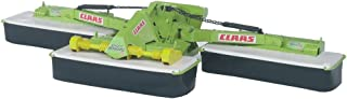 Bruder 02218 CLAAS Disc 8550 C Plus Three Part Mower Add On for Tractors & Combine Harvesters