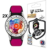 IPG for Tag HEUER Connected 41 mm Screen Protector 2 Units with Lifetime Replacement Warranty Invisible Protective Screen Guard - Smooth/Self-Healing/Bubble -Free