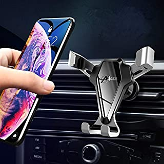 HULPPRE Cell Phone Holder for Car With Stronger Vent Clip Universal Mobile Phone Stand Holder Easy Installation Hands Free...