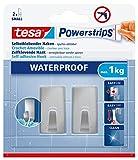 tesa Powerstrips Waterproof Hooks S metal rectangular