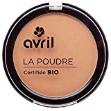 "Avril polvo bronceador, Certificado ""orgánico"", Caramel doré, 7g"