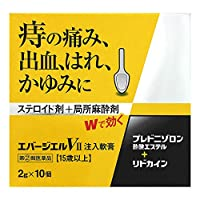 【指定第2類医薬品】エバージエルVII注入軟膏 2g×10個