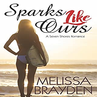 Sparks like Ours                   Written by:                                                                                                                                 Melissa Brayden                               Narrated by:                                                                                                                                 Melissa Sternenberg                      Length: 8 hrs and 43 mins     7 ratings     Overall 5.0
