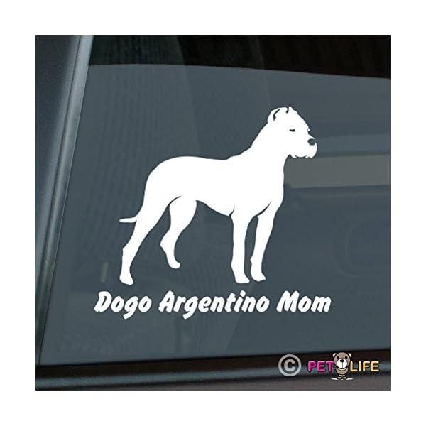 Dogo Argentino Mom Sticker Vinyl Auto Window v2 1