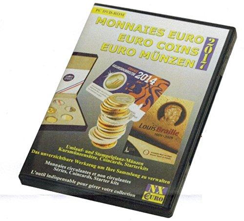 SAFE Pro Numix Euro 2017 Münzen Software Euro Münzkatalog Sammlerverwaltung Numismatik Datenbank DVD CD-ROM 1999 - 2016 für Bestands-, Fehl- oder Dublettenlisten und mehr