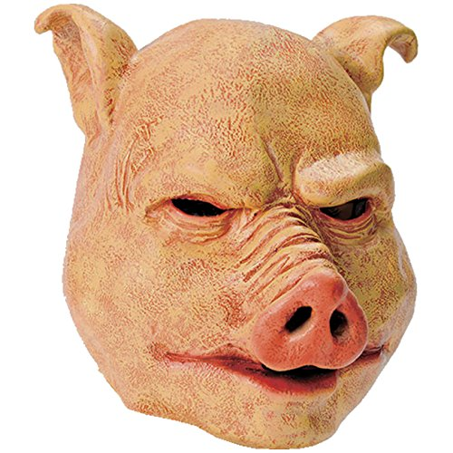Spassprofi Vollmaske böses Schwein Tiermaske Schweinsmaske Masken