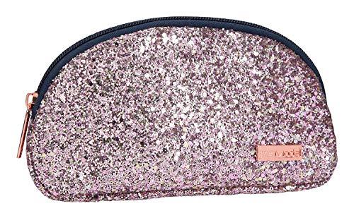 Depesche 10180 Kosmetiktasche TOPModel, Glitzer rosa, bunt
