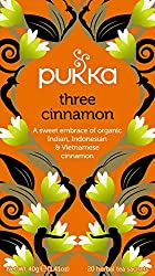 Three Cinnamon has been blended using the most delicious types of sweet cinnamon to make a richly spiced tea of real depth It is one of natures most invigorating herbs It will warm your soul and lift your spirit Free from dairy, gluten, wheat, nut, s...