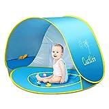 CeeKii Pop up Baby Beach Tent Portable Portable Kiddies Shade Pool Tent 50