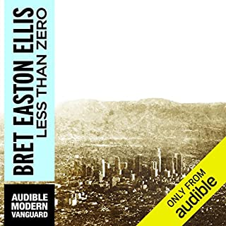 Less Than Zero  audiobook cover art