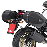 Givi 3D600 Borse Laterali Triumph Street Triple R 13-16 + Telaietti Easylock