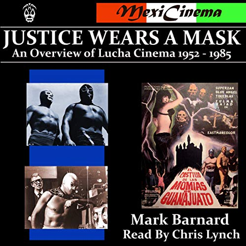 Justice Wears a Mask audiobook cover art