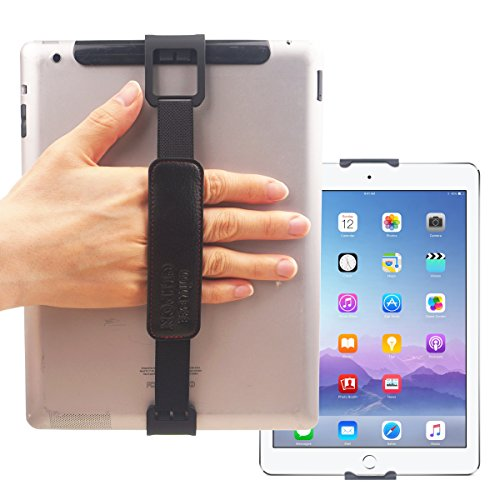 WiLLBee CLIPON 2 DUAL für Tablet PC 7~11 Zoll (Schwarz) Elastisches Halteband Hand Griffgefühl hülle Halter - iPad Pro 10.5 9.7 Air2 Air Mini 4 3 2 Galaxy Tab S3 S2 S A E Pro Book 10.6 LG G Pad 4 3