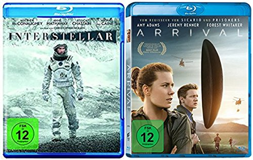 Interstellar + Arrival / Blu-ray Set